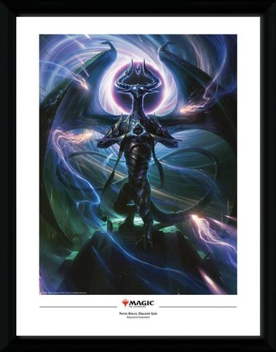Magic the Gathering - Poster im Rahmen: Nicol Bolas, Dragon God