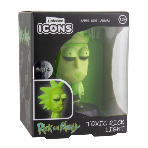 Rick & Morty 3D Icon Lampe: Rick Limited Edition 10 cm