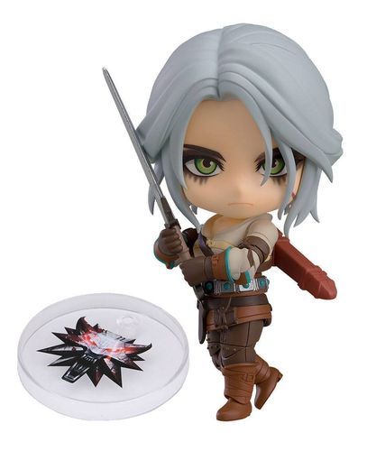 The Witcher 3 - Wild Hunt Nendoroid Actionfigur: Ciri 10 cm
