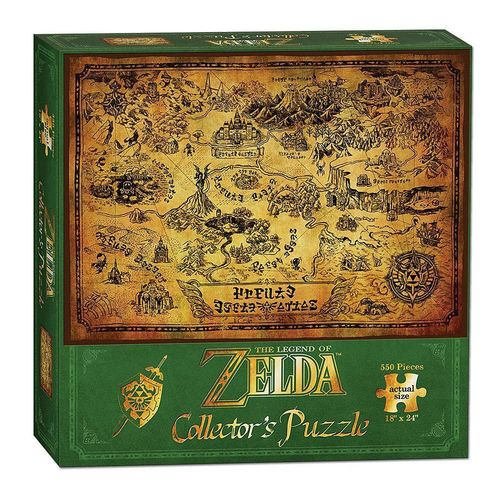 Legend of Zelda Puzzle: Hyrule Map