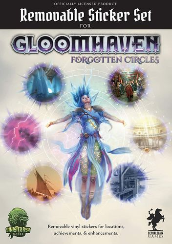 Gloomhaven - Removable Sticker Set: Forgotten Circles (Englisch)