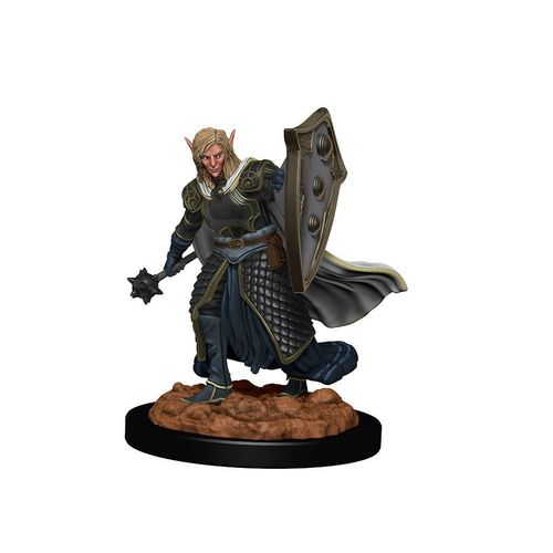 D&D Icons of the Realms: Premium Miniatur vorbemalt - Elf Male Cleric