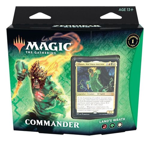 Zendikar rising: Commander Deck - Land's Wrath (englisch)