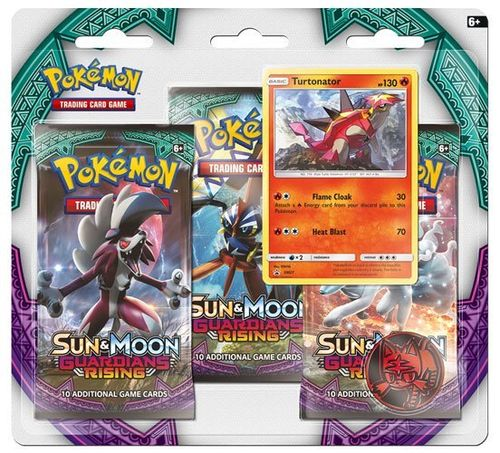 Pokemon: Sun and Moon 2 - Guardians Rising (3 Pack Blister, eglisch)