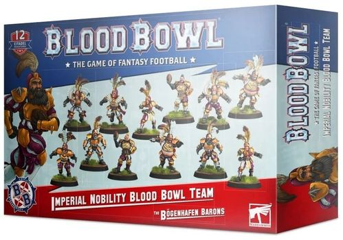 The Bogenhafen Barons: Imperial Nobility Blood Bowl Team